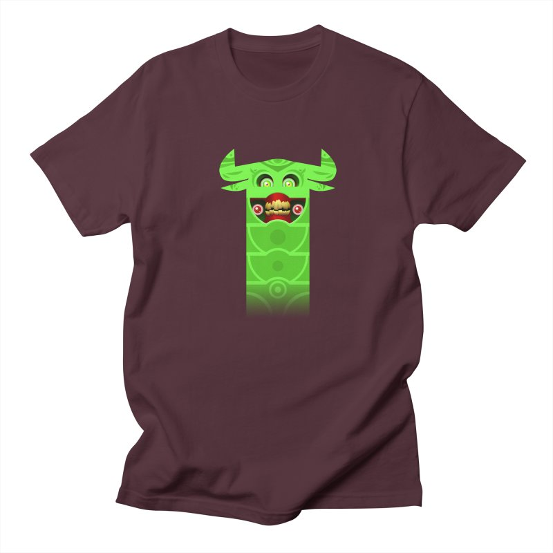 Mr. Yuchyux (green smiling) Men's Regular T-Shirt by BEeow's Artist Shop