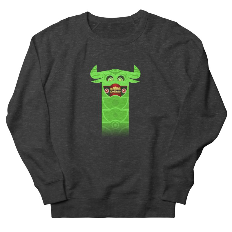 Mr. Yuchyux (green smiling) Men's Sweatshirt by BEeow's Artist Shop