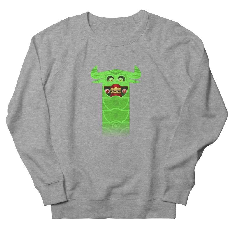Mr. Yuchyux (green smiling) Men's Sweatshirt by BEeow's Artist Shop