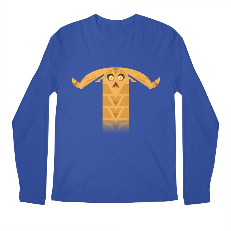 Mr. Yuchyux (orange frowning) Men's Regular Longsleeve T-Shirt by BEeow's Artist Shop