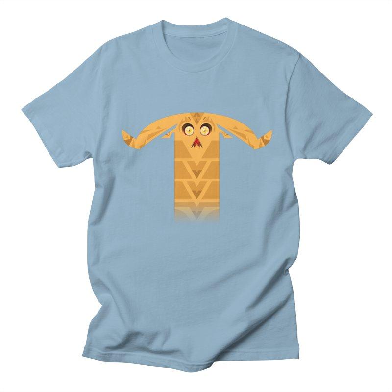Mr. Yuchyux (orange frowning) Men's T-shirt by BEeow's Artist Shop