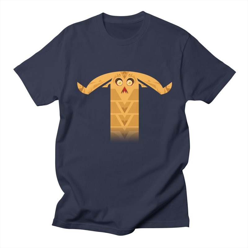 Mr. Yuchyux (orange frowning) Men's T-Shirt by BEeow's Artist Shop