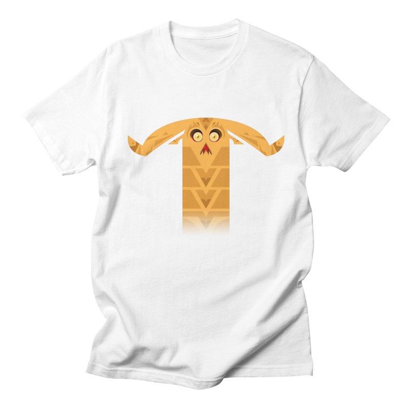 Mr. Yuchyux (orange frowning) Men's Regular T-Shirt by BEeow's Artist Shop