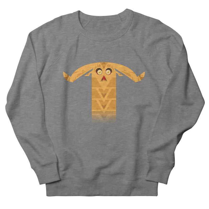 Mr. Yuchyux (orange frowning) Men's French Terry Sweatshirt by BEeow's Artist Shop