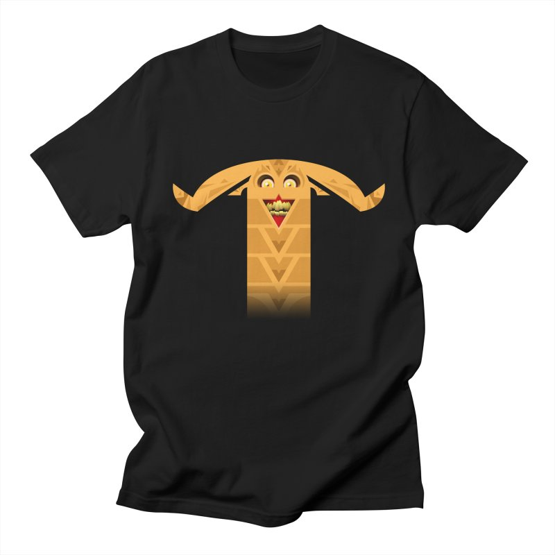 Mr. Yuchyux (orange smiling) Men's T-Shirt by BEeow's Artist Shop