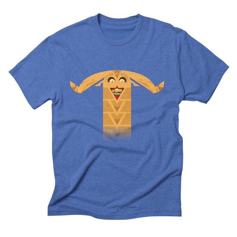 Mr. Yuchyux (orange smiling) Men's T-Shirt by BEeow's Artist Shop