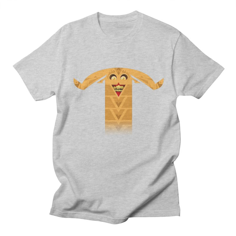 Mr. Yuchyux (orange smiling) Men's Regular T-Shirt by BEeow's Artist Shop