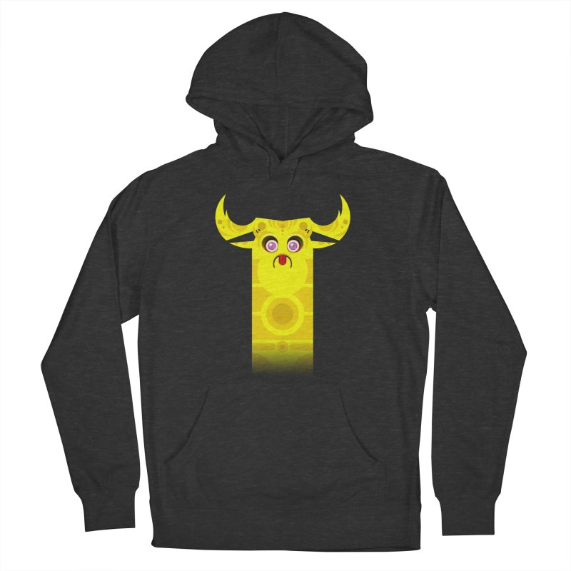 Mr. Yuchyux (yellow frowning) Women's Pullover Hoody by BEeow's Artist Shop
