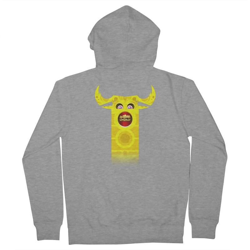 Mr. Yuchyux (yellow smiling) Women's Zip-Up Hoody by BEeow's Artist Shop