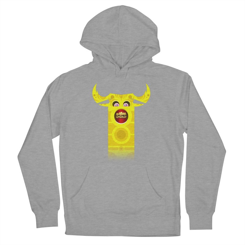 Mr. Yuchyux (yellow smiling) Women's Pullover Hoody by BEeow's Artist Shop