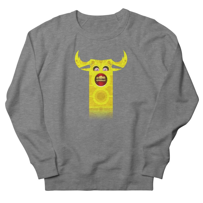Mr. Yuchyux (yellow smiling) Men's French Terry Sweatshirt by BEeow's Artist Shop