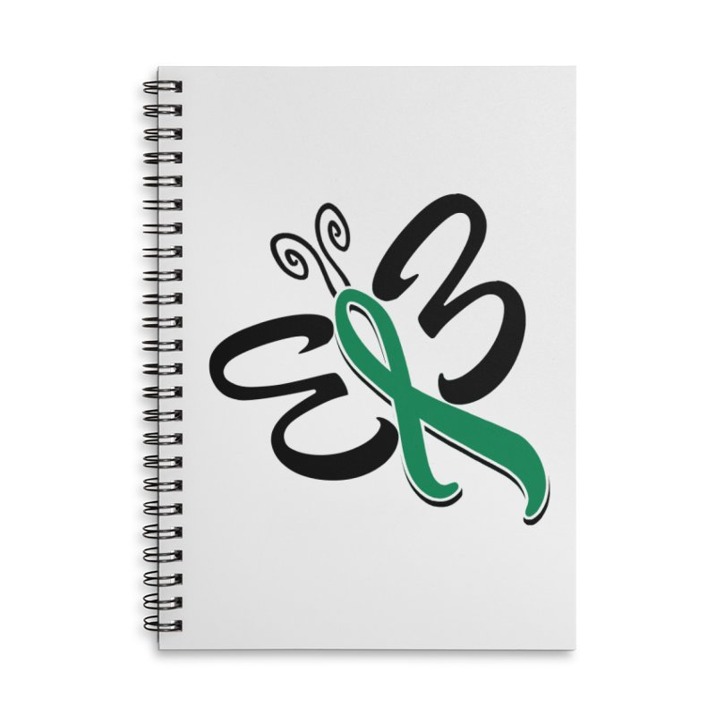 Butterfly Accessories Notebook by Brain Injury Services Shop