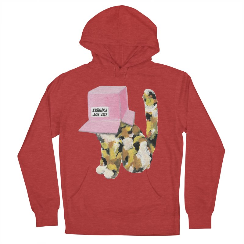 Cat in box Men's Pullover Hoody by BJcaptain's Artist Shop