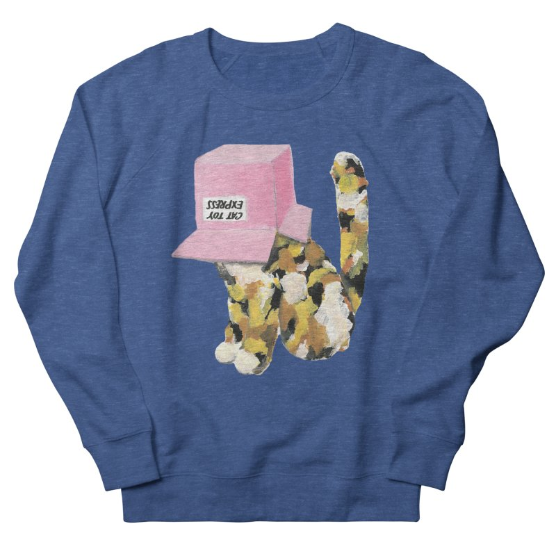 Cat in box Women's Sweatshirt by BJcaptain's Artist Shop