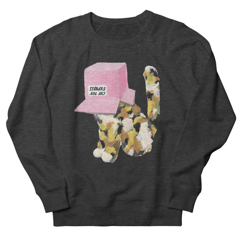Cat in box Men's Sweatshirt by BJcaptain's Artist Shop