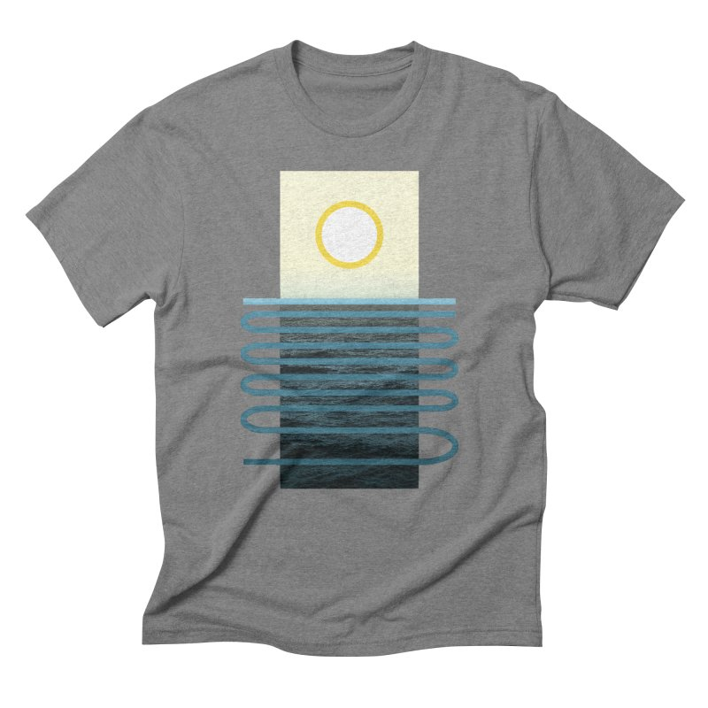 Sunrise At Sea Men's Triblend T-Shirt by Sam Arias