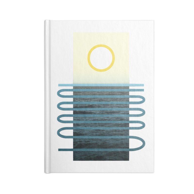 Sunrise At Sea Accessories Notebook by Sam Arias