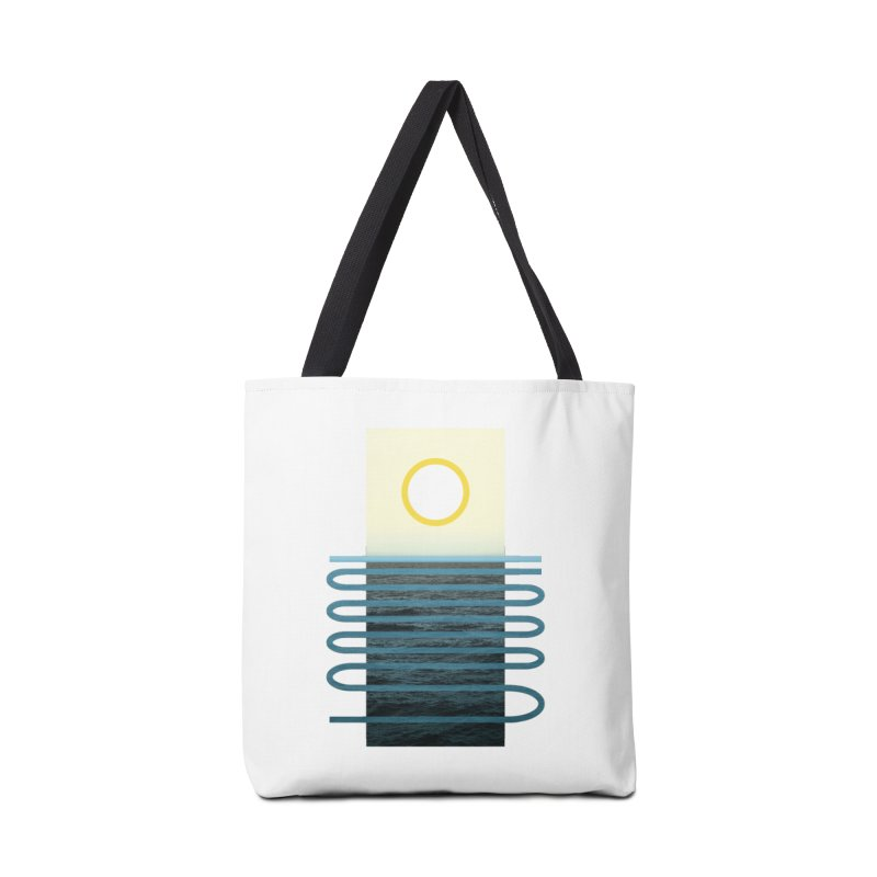 Sunrise At Sea Accessories Bag by Sam Arias