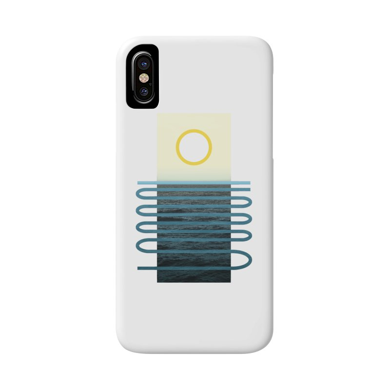 Sunrise At Sea Accessories Phone Case by Sam Arias