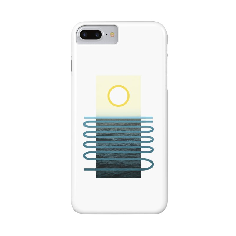Sunrise At Sea Accessories Phone Case by Sam Arias