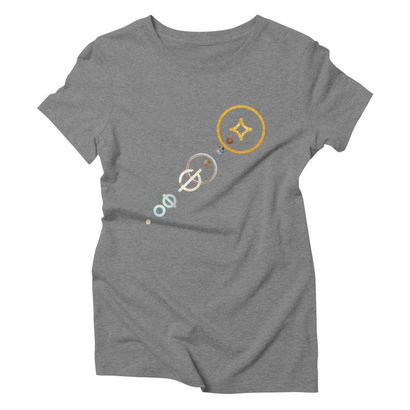Solar Flare Women's Triblend T-shirt by Sam Arias