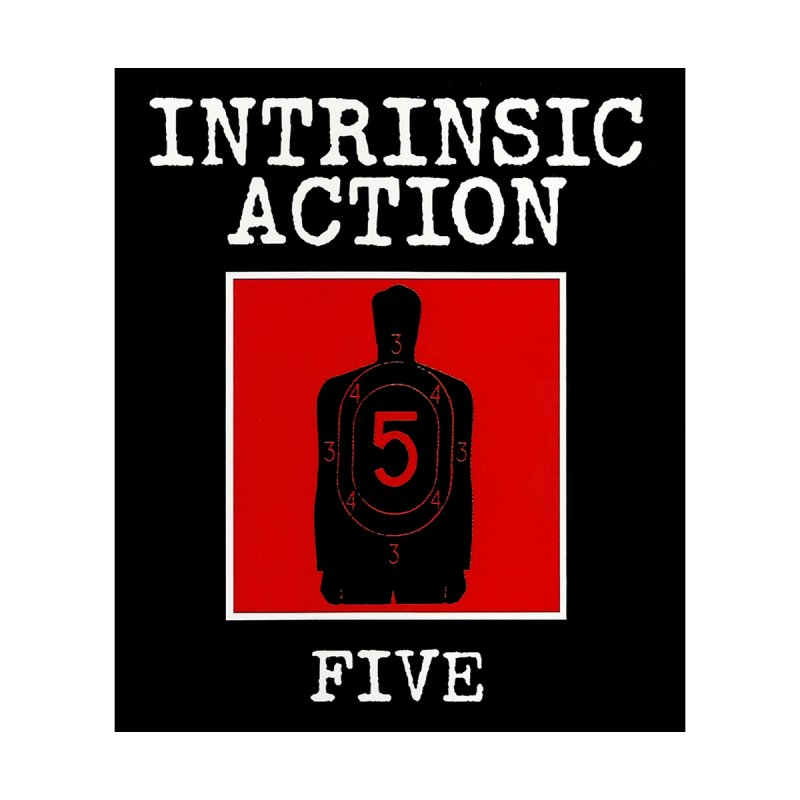 "Intrinsic Action ""Five"" Accessories Sticker by BLOODYMINDED Shop"