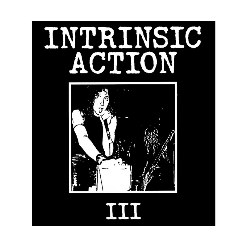 """Intrinsic Action """"III"""" Accessories Sticker by BLOODYMINDED Shop"""