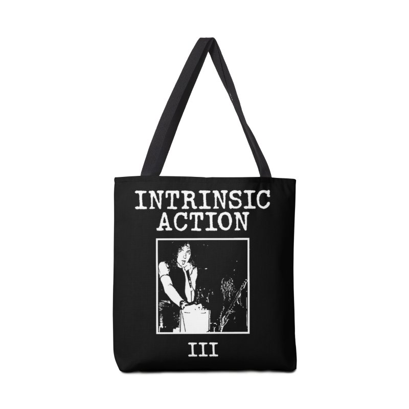 """Intrinsic Action """"III"""" Accessories Bag by BLOODYMINDED Shop"""