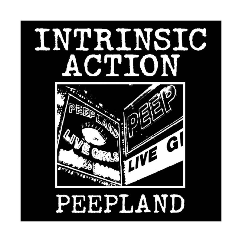 "Intrinsic Action ""Peepland"" Accessories Sticker by BLOODYMINDED Shop"