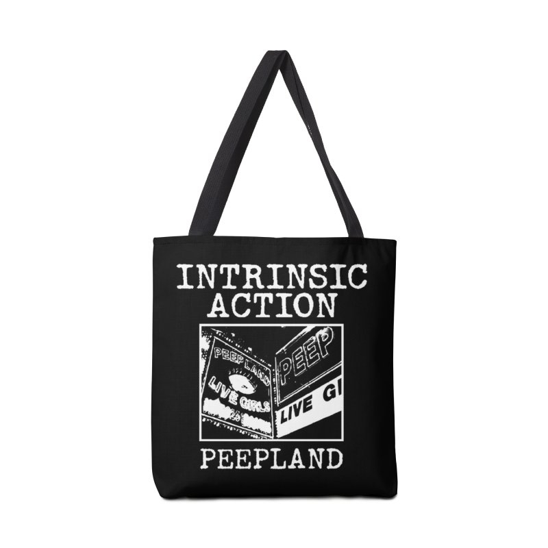 "Intrinsic Action ""Peepland"" Accessories Bag by BLOODYMINDED Shop"