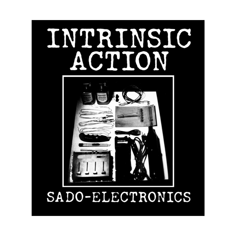 "Intrinsic Action ""Sado-Electronics"" Men's Pullover Hoody by BLOODYMINDED Shop"