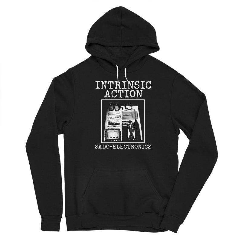 """Intrinsic Action """"Sado-Electronics"""" Men's Pullover Hoody by BLOODYMINDED Shop"""