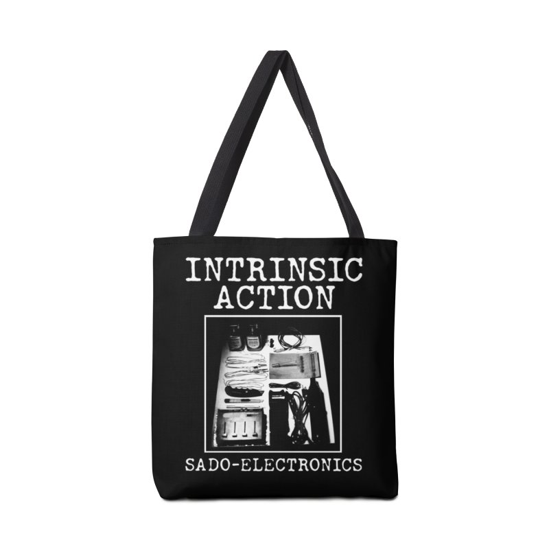 "Intrinsic Action ""Sado-Electronics"" Accessories Bag by BLOODYMINDED Shop"