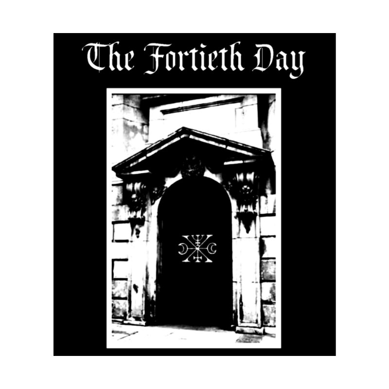 """The Fortieth Day """"Door"""" Accessories Sticker by BLOODYMINDED Shop"""