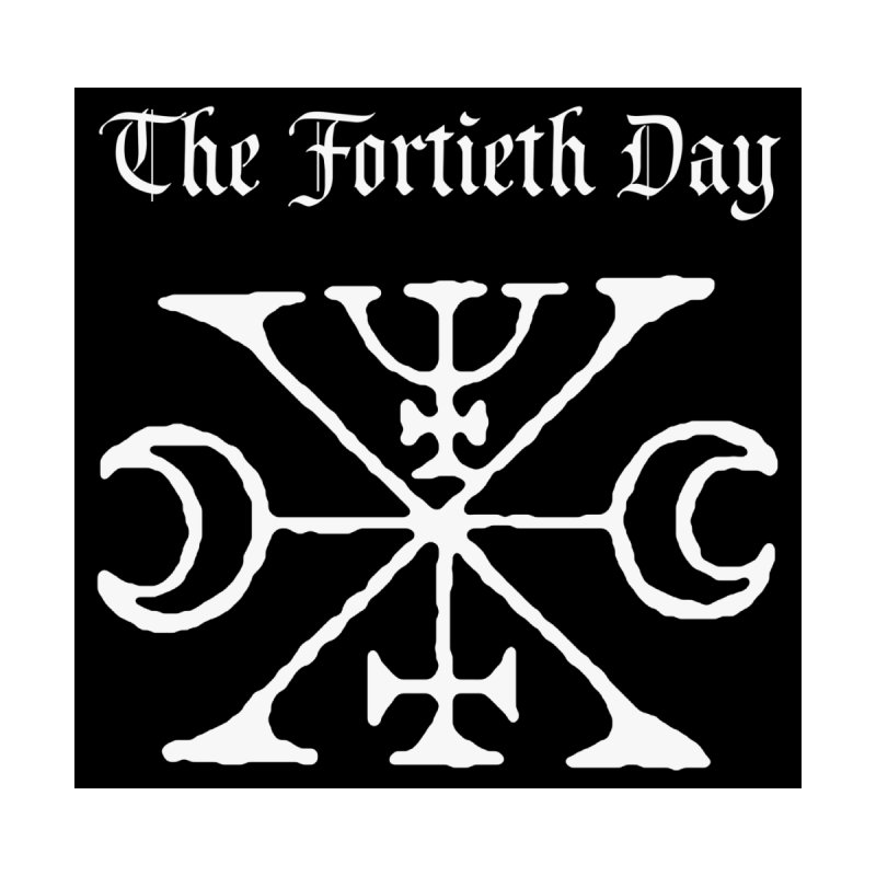 "The Fortieth Day ""Sigil"" Accessories Sticker by BLOODYMINDED Shop"
