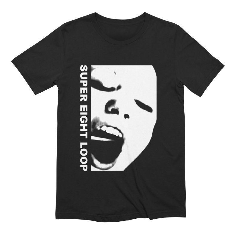 """Super Eight Loop """"Face"""" Men's T-Shirt by BLOODYMINDED Shop"""