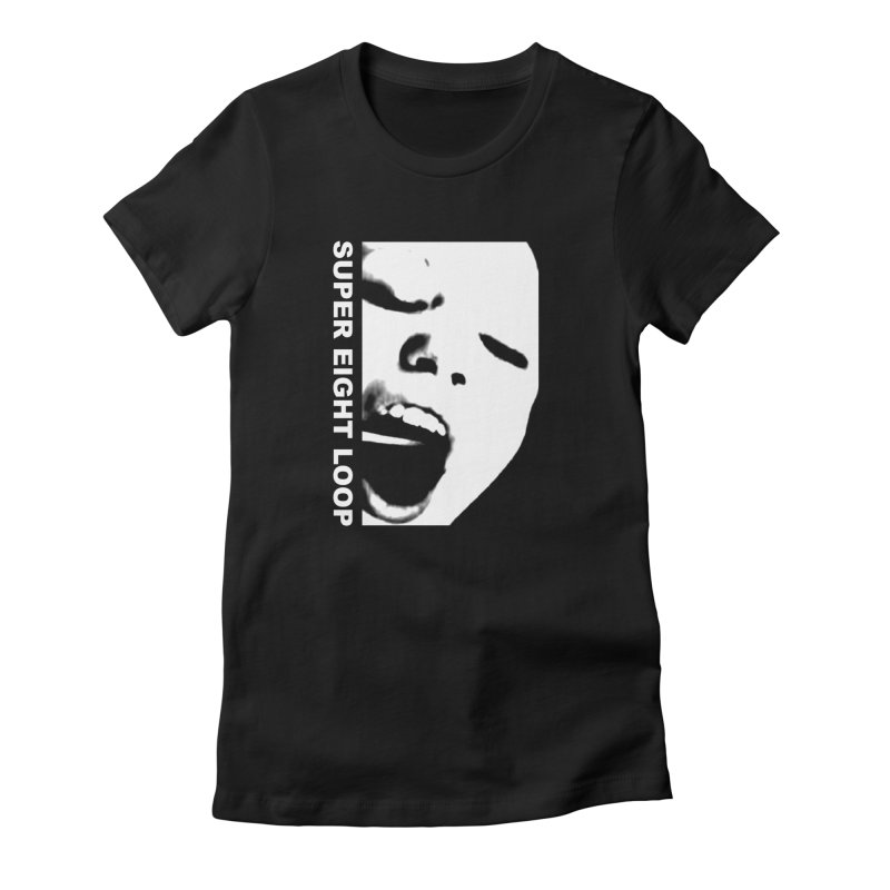 """Super Eight Loop """"Face"""" Women's T-Shirt by BLOODYMINDED Shop"""