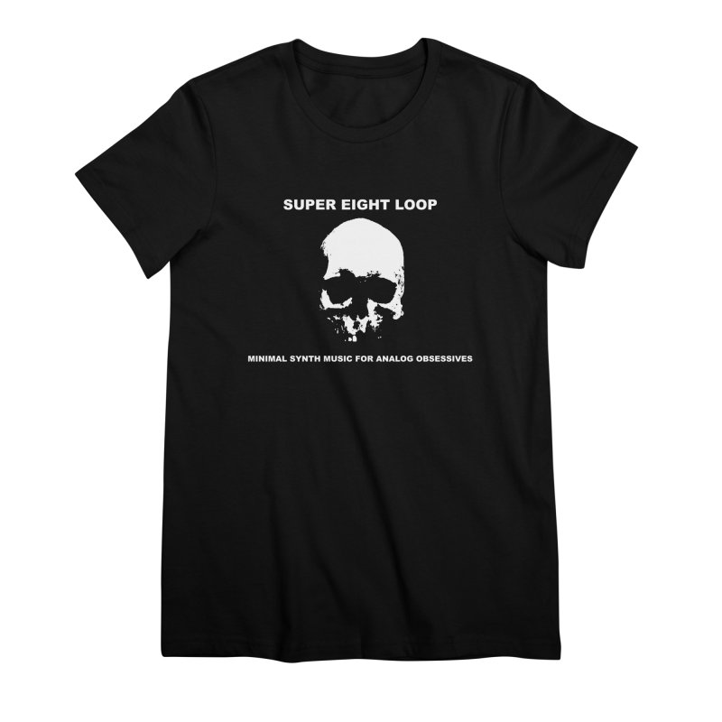 """Super Eight Loop """"Skull"""" Women's T-Shirt by BLOODYMINDED Shop"""