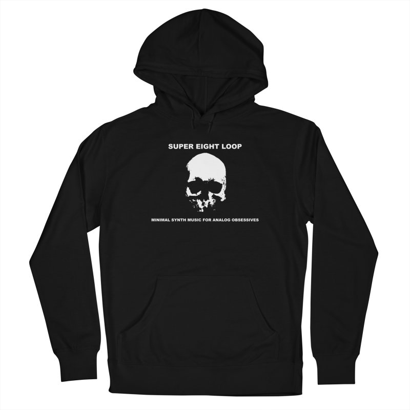 """Super Eight Loop """"Skull"""" Men's Pullover Hoody by BLOODYMINDED Shop"""