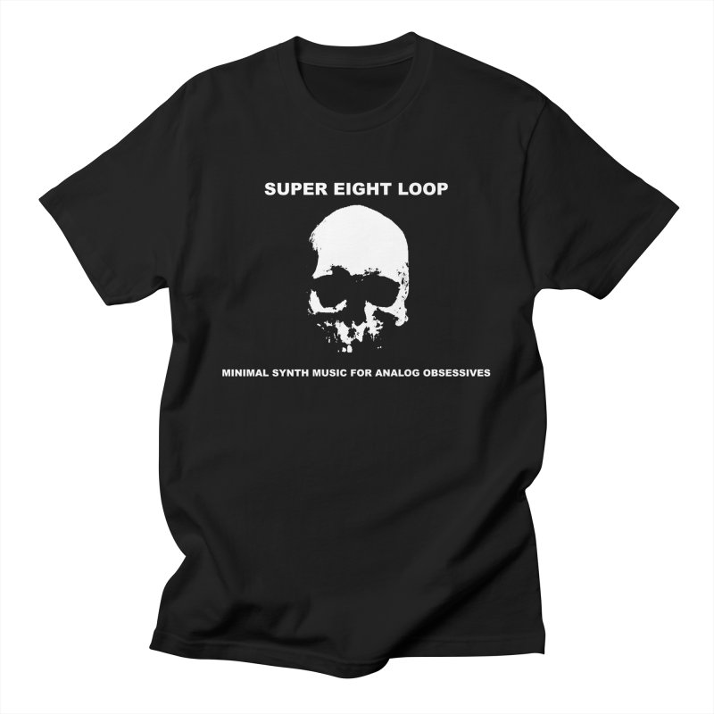 """Super Eight Loop """"Skull"""" Men's T-Shirt by BLOODYMINDED Shop"""
