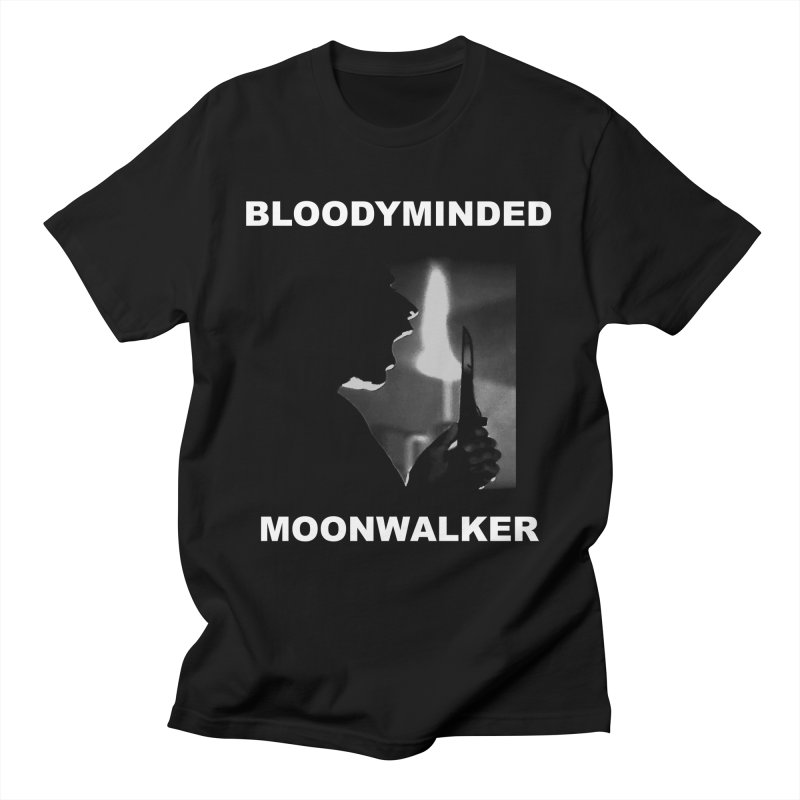 """BLOODYMINDED """"Moonwalker (One)"""" Men's T-Shirt by BLOODYMINDED Shop"""