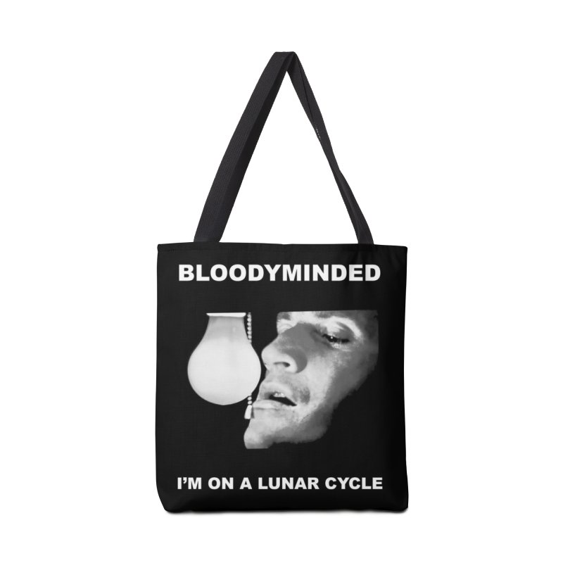 """BLOODYMINDED """"Moonwalker (Two)"""" Accessories Bag by BLOODYMINDED Shop"""