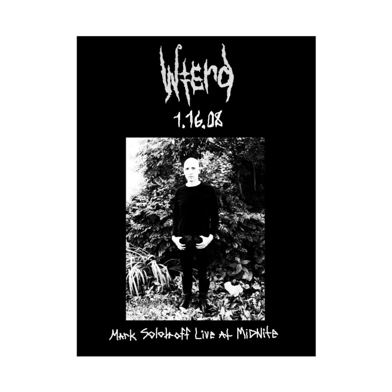 """Mark Solotroff """"Live In Wierd"""" Men's T-Shirt by BLOODYMINDED Shop"""