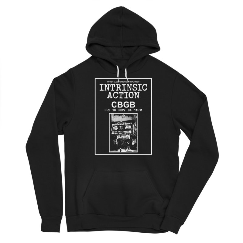 """Intrinsic Action """"CBGB"""" Men's Pullover Hoody by BLOODYMINDED Shop"""