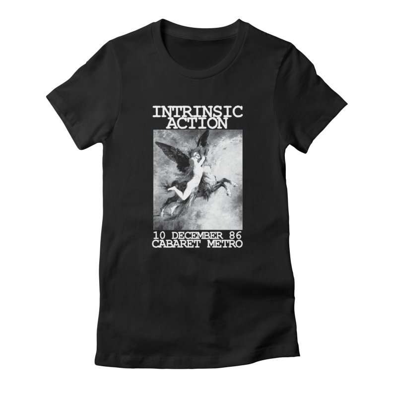 """Intrinsic Action """"Metro 86"""" Women's T-Shirt by BLOODYMINDED Shop"""