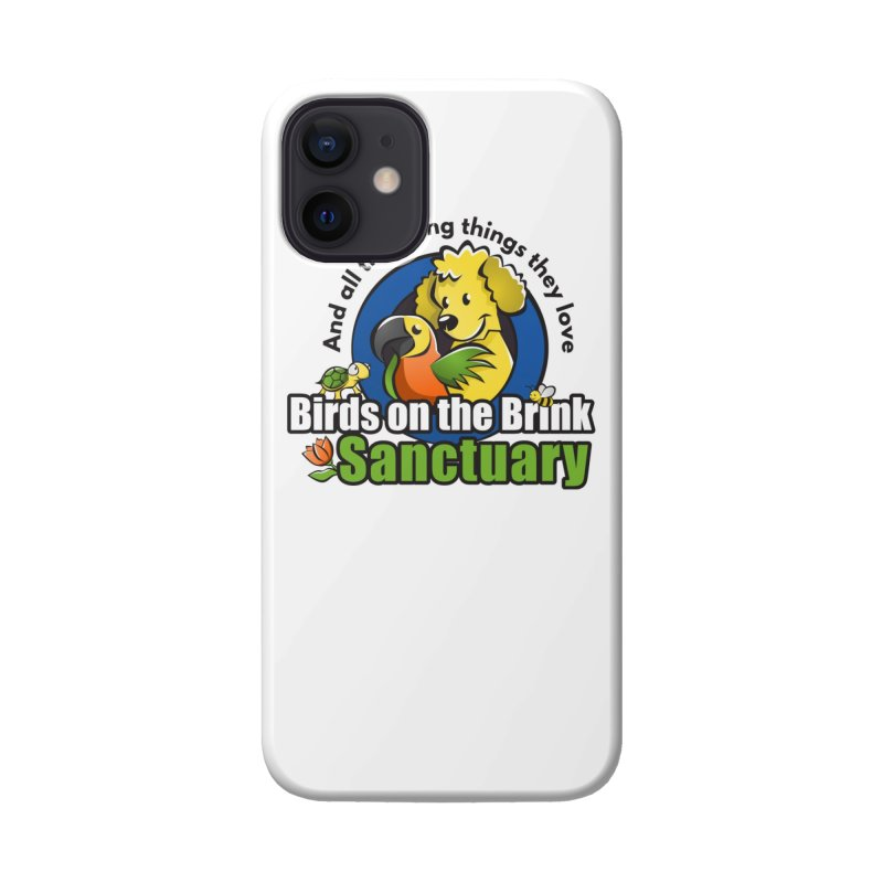 Birds on the Brink Logo Gear Accessories Phone Case by Birds on the Brink Sanctuary Shop