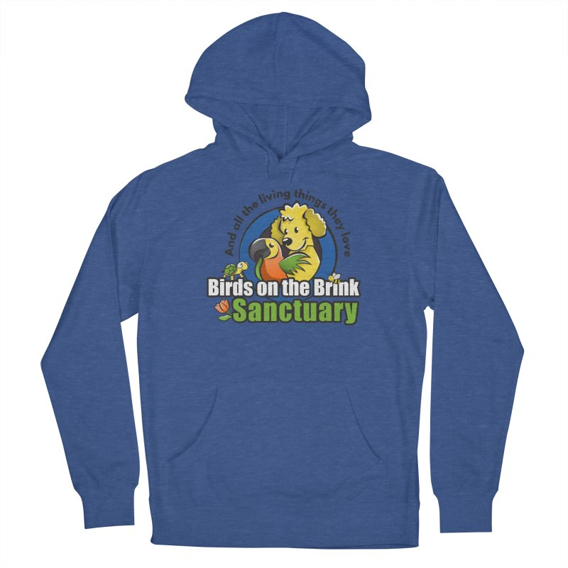 Birds on the Brink Logo Gear Men's Pullover Hoody by Birds on the Brink Sanctuary Shop