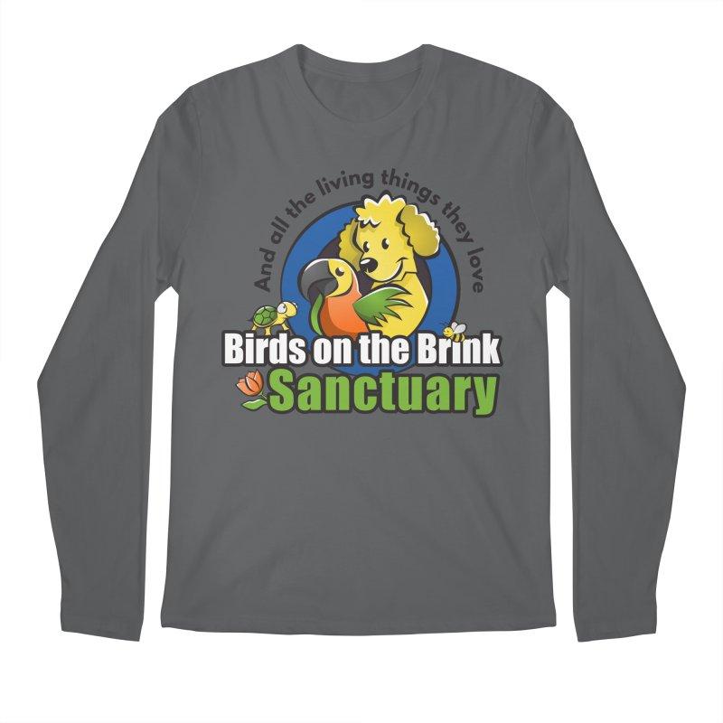 Birds on the Brink Logo Gear Men's Longsleeve T-Shirt by Birds on the Brink Sanctuary Shop