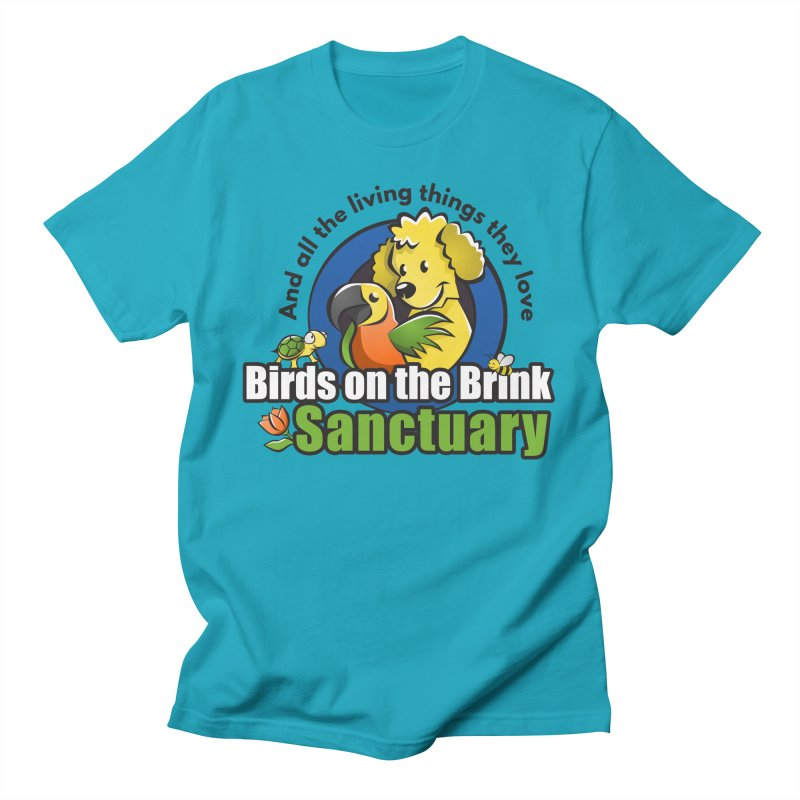 Birds on the Brink Logo Gear Men's T-Shirt by Birds on the Brink Sanctuary Shop