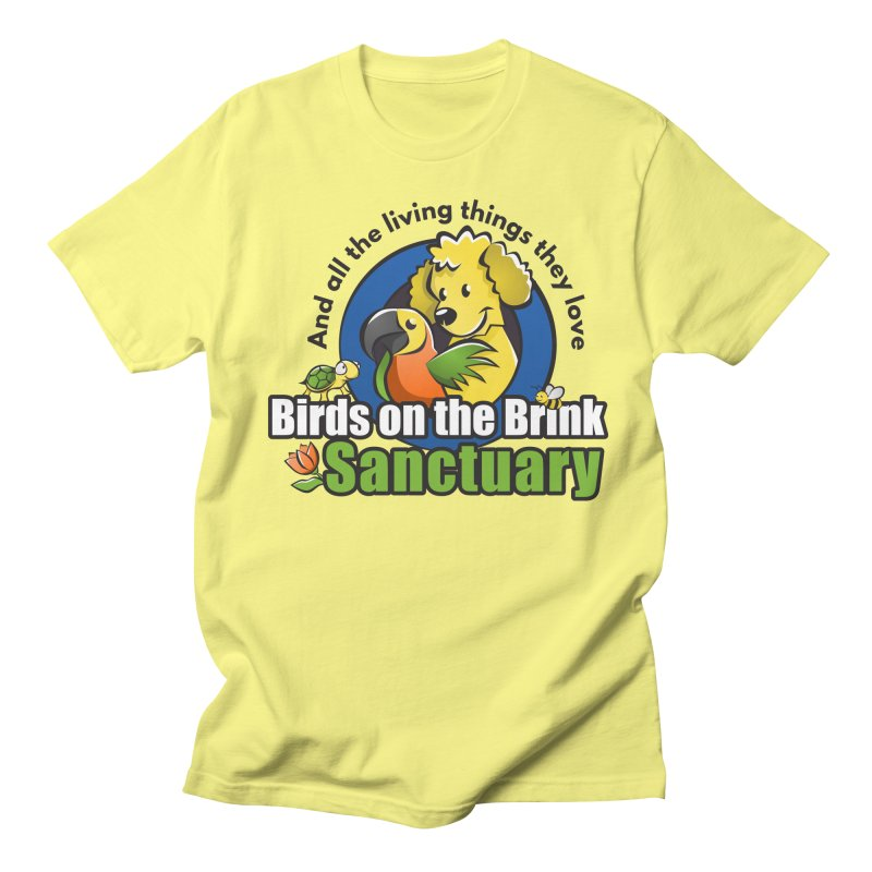 Birds on the Brink Logo Gear Men's T-Shirt by Birds on the Brink Sanctuary Shop